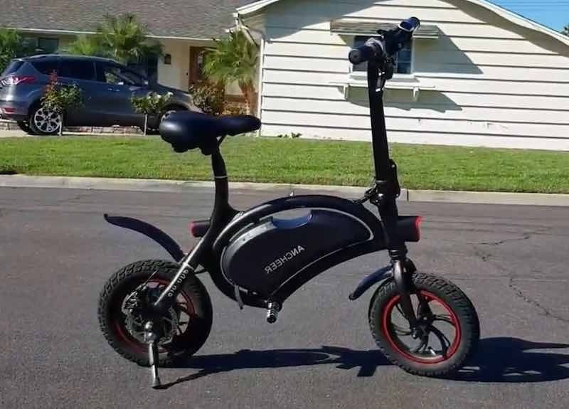 BEST FOLDING ELECTRIC BIKE UNDER $500. A PERFECT ALTERNATIVE TO AN ELECTRIC SCOOTER