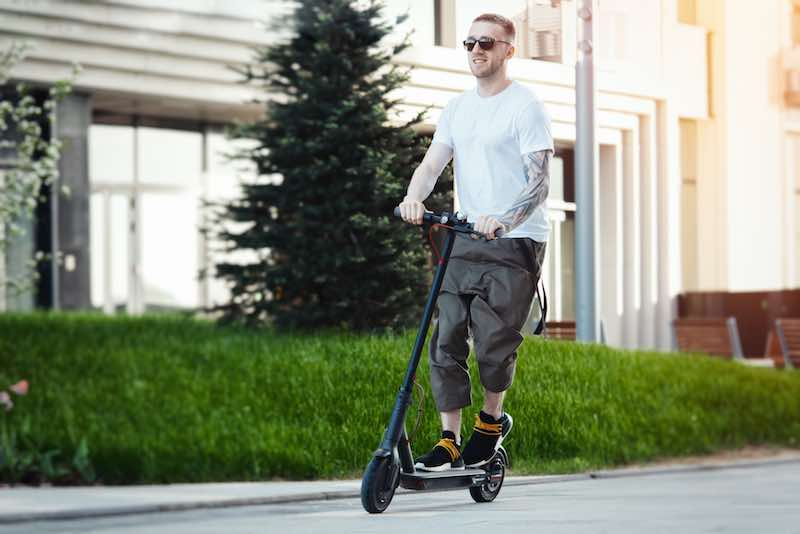 E-scooters can help you improve body coordination